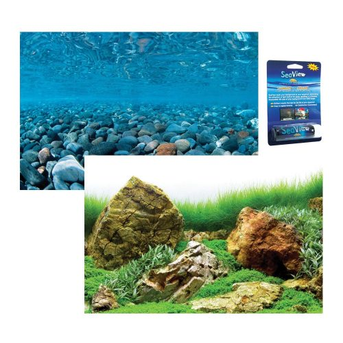 Rock/Sea Of Green Aquarium background