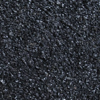 Hugo Kamishi black glass gravel