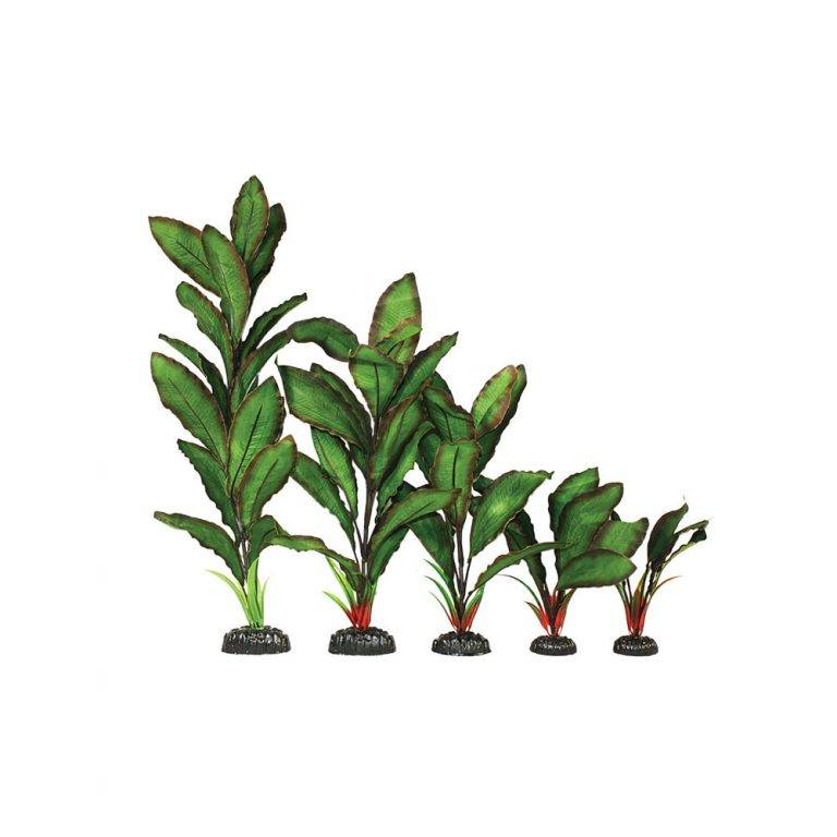 silk aquascaping plant