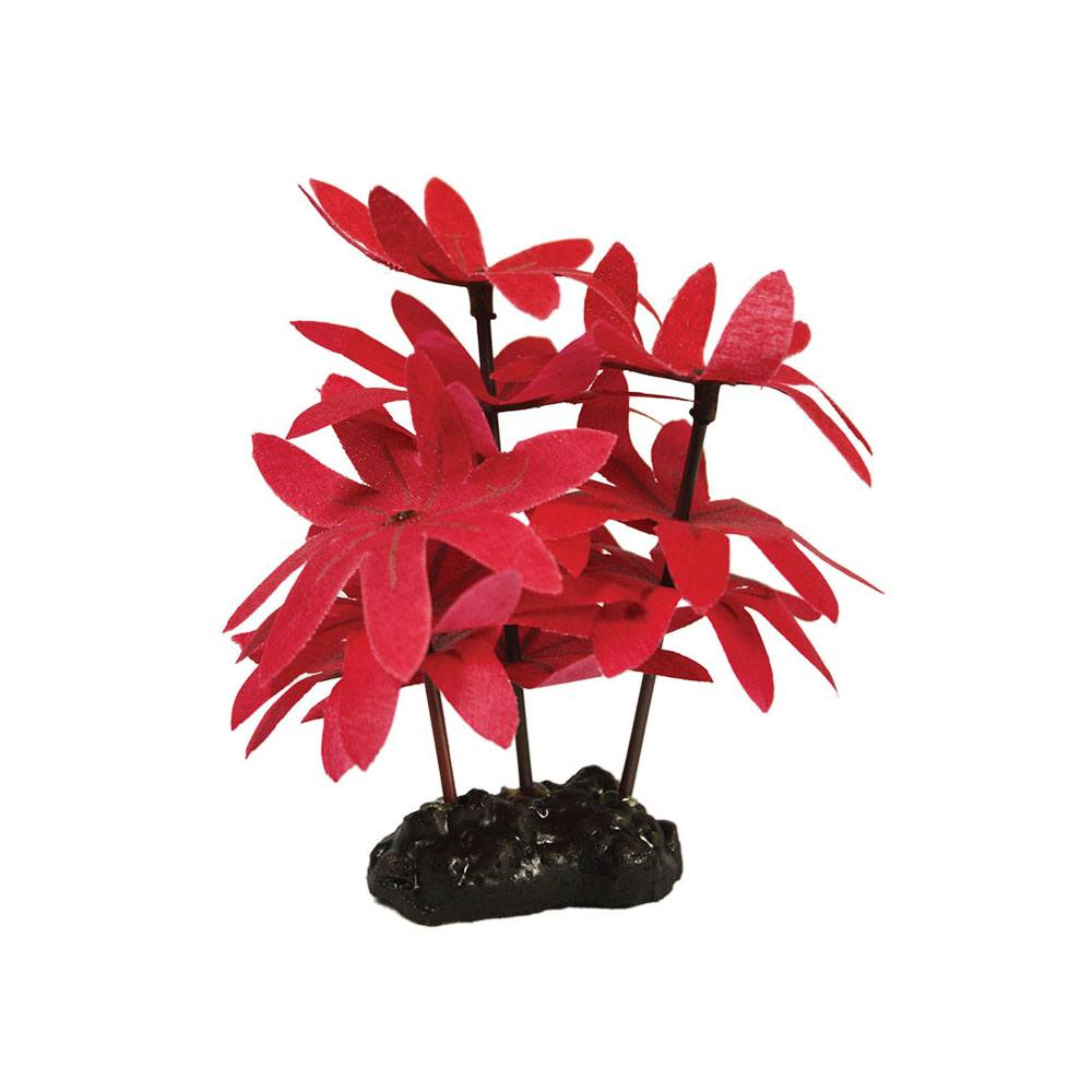 Red Foreground Silk Aquascaping aquarium plant 10cm