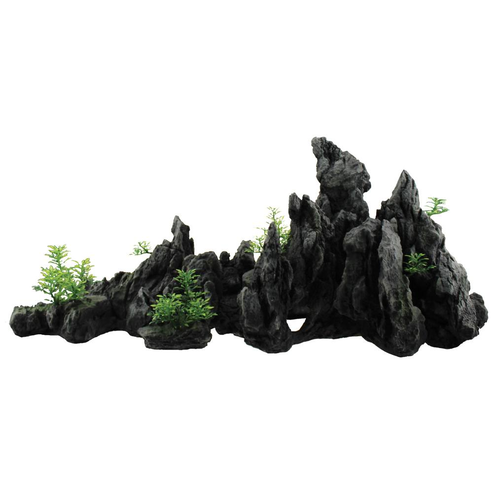 Hugo Kamishi Aquascaping Decor kit Rock extra's