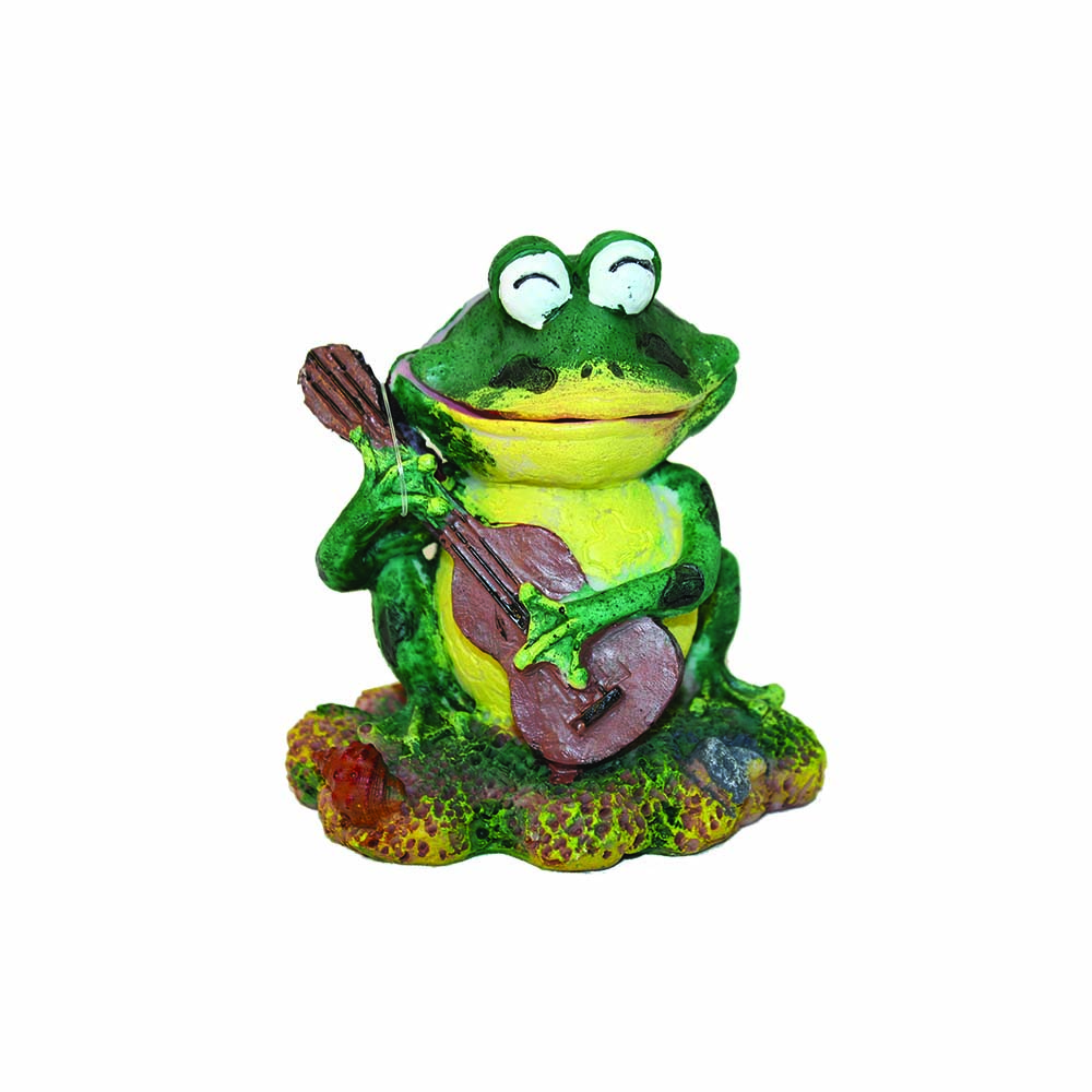 Hugo Kamishi Happy Frog 11x9x12 Aerating Aquarium ornament