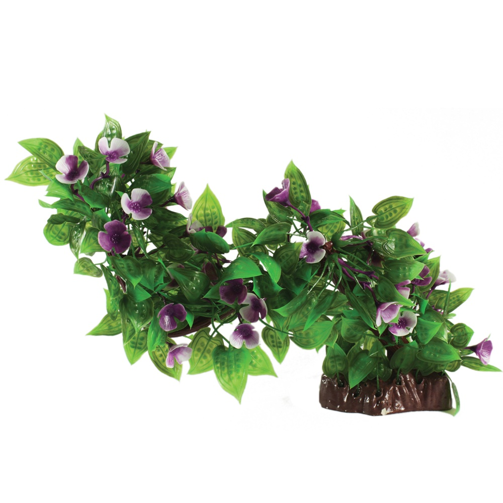 Hugo Kamishi Branch purple flower 35cm