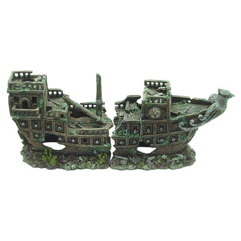 Galleon 57x19x23cm - 2 pieces