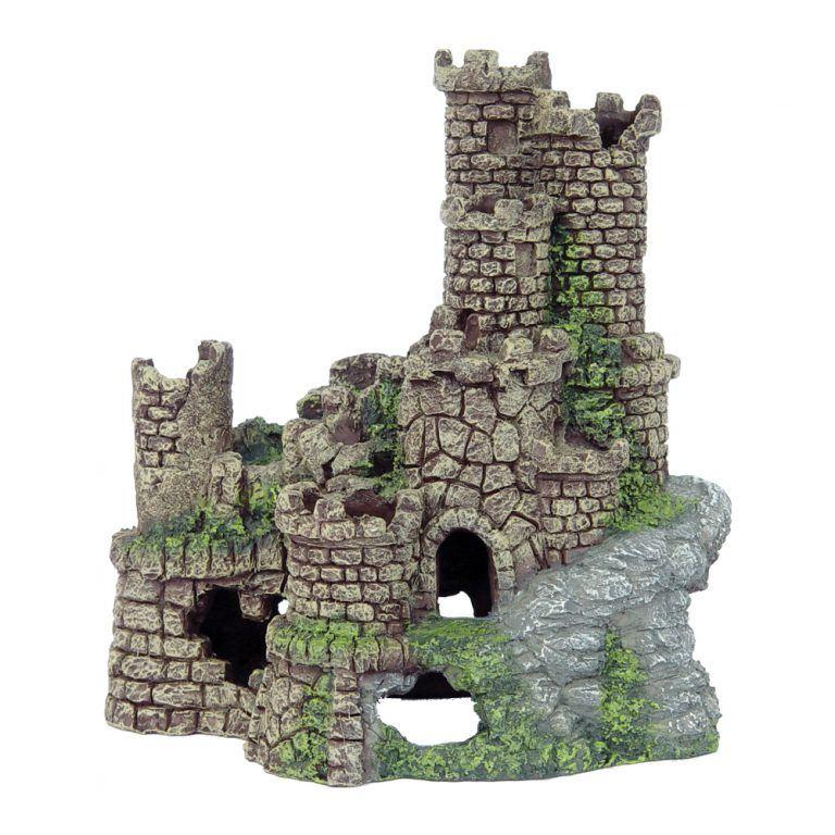 Winding castle 20x14x22cm