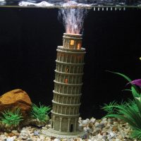 Hugo Kamishi Pisa , LED Aerating Aquarium ornament