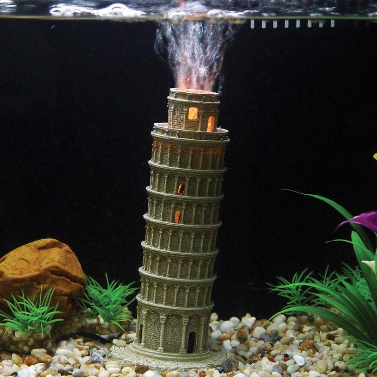 Hugo Kamishi Pisa , LED Aerating Aquarium ornament