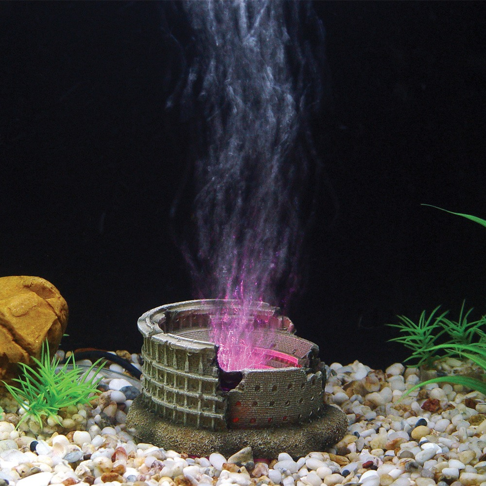 Hugo Kamishi Arena , LED Aerating Aquarium ornament
