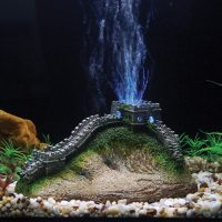 Great Wall China LED Aerating Aquarium ornament