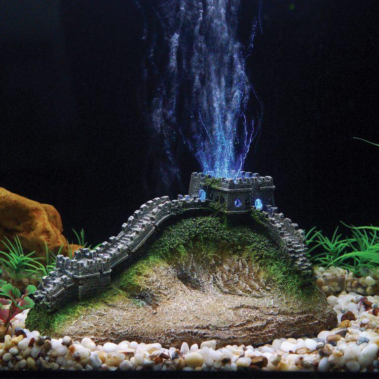 Great Wall China LED Aerating Aquarium ornament