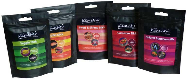 Hugo Kamishi Fish Food Collection